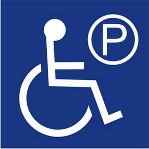 無障礙停車位標誌牌
